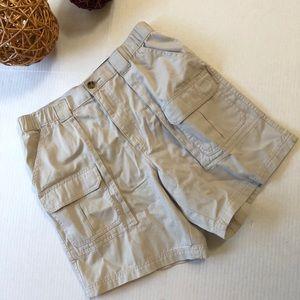 Croft & Barrow men's khaki cargo shorts, Sz. 42W